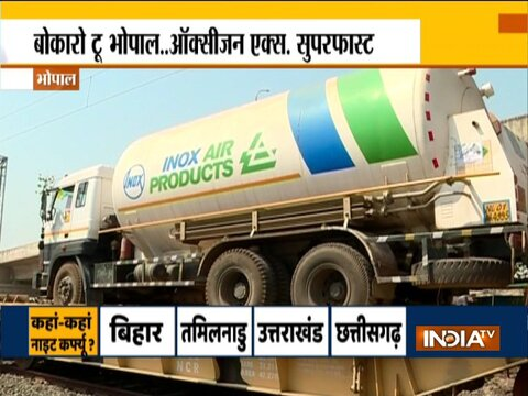 'Oxygen Express' with 6 tankers from Jharkhand's Bokaro reaches MP's Bhopal
