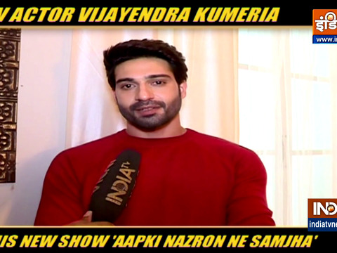 Actor Vijayendra Kumeria talks about his show Aapki Nazron Ne Samjha