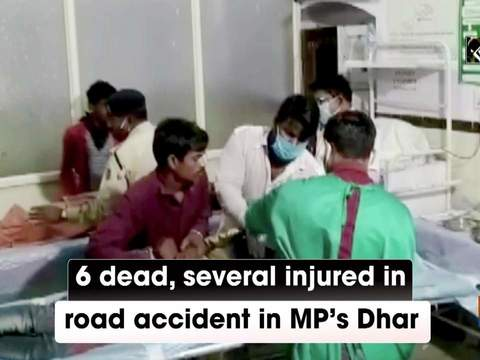 6 dead, several injured in road accident in MP's Dhar