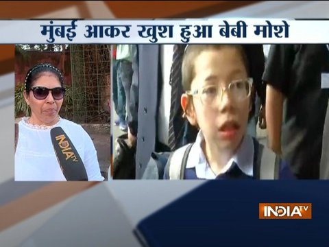 Two-year young to 11-year old: Survivor of 26/11 attack, Moshe visits Mumbai