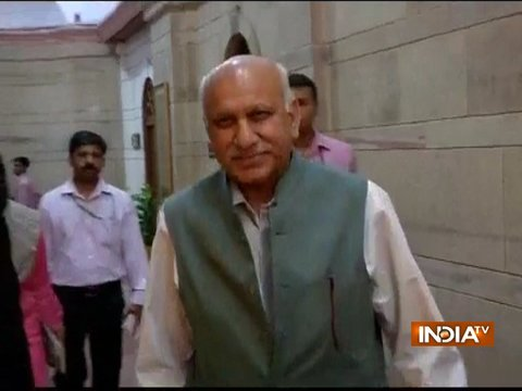 Amid #MeToo controversy, MJ Akbar returns to India