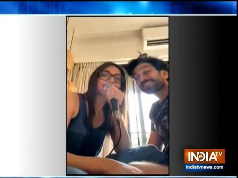 TV actor Nakuul Mehta joins wife Jankee Parekh for a romantic song