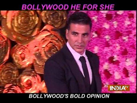 HeForShe कैंपेन पर बॉलीवुड सितारों की राय