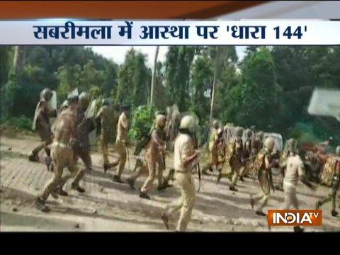 Sabarimala showdown: Bandh call evokes mixed reponse, violence reported from Thiruvananthapuram