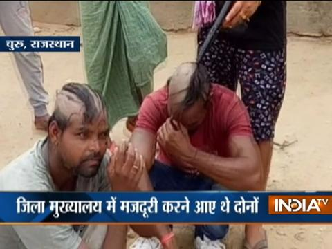 Caught On Camera: Two men tortured over theft charge in Rajasthan