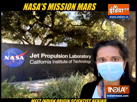 NASA's Perseverance Rover lands on Mars, Indian-origin scientist Swati Mohan leads mission
