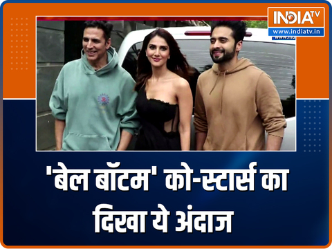 Bell Bottom co-stars Akshay Kumar and Vaani Kapoor make heads turn