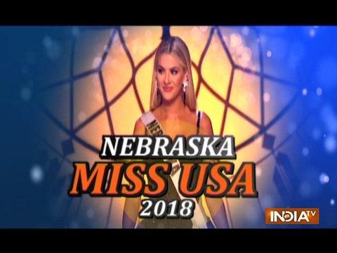 नेब्रास्का सारा रोज़ समर्स बनी मिस यूएसए 2018