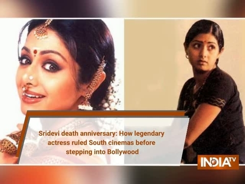 Sridevi death anniversary: How legendary actress ruled South cinemas before stepping into Bollywood