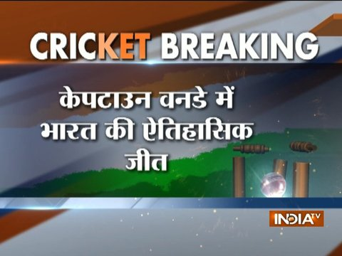 India beat South Africa by 124 runs, lead the 6 match series by 3-0