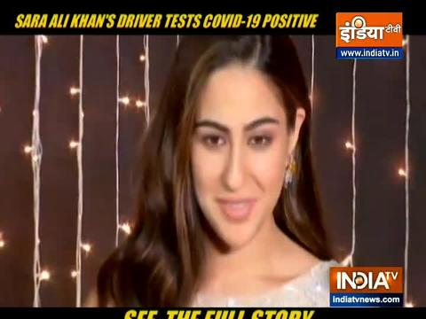 Sara Ali Khan and family test negative after driver found Covid-19 positive