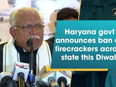 Haryana govt announces ban on firecrackers across state this Diwali