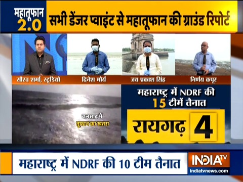 Cyclone Nisarga likely to intensify; NDRF teams deployed in Maharashtra, Gujarat