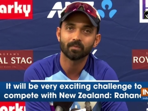 It will be very exciting challenge to compete with New Zealand: Rahane