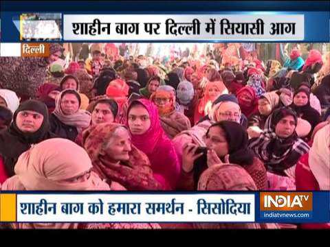 AAP, BJP in war of words over Shaheen Bagh protests