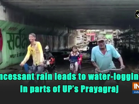 Incessant rain leads to water-logging in parts of UP's Prayagraj