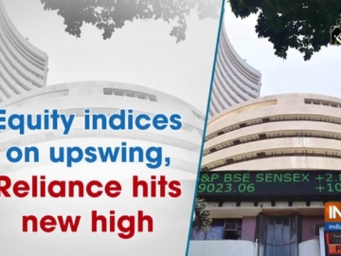 Equity indices on upswing, Reliance hits new high