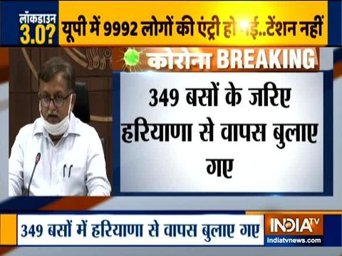 Yogi Govt brings back over 12,000 migrant labourers from Haryana amid COVID-19 lockdown