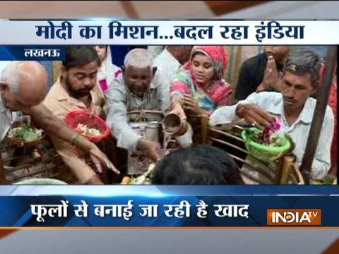 लखनऊ के प्रसिद्ध मनकामेश्वर मंदिर से स्वच्छ भारत अभियान की एक अनोखी मुहिम आई सामने