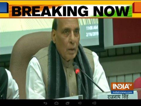 पुलवामा आतंकी हमला: दिल्ली में संसद में सर्वदलीय बैठक शुरू