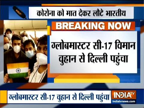 कोरोनोवायरस: वुहान से 76 भारतीयों को किया गया रेस्क्यू