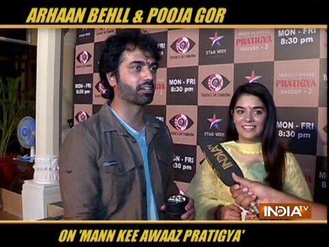 Arhaan Behll and Pooja Gor come together for Mann Kee Awaaz Pratigya 2