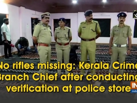 No rifles missing: Kerala Crime Branch Chief after conducting verification at police store