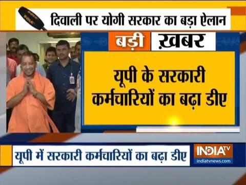 Yogi govt raise DA of UP state govt employees by 5 per cent