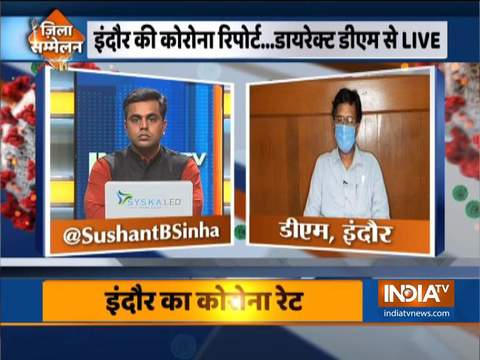 Indore DM Manish Singh speaks on coronavirus and lockdown situation in Indore