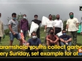 Dharamshala youths collect garbage every Sunday, set example for others