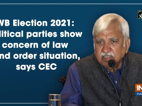 WB Election 2021: Political parties show concern of law and order situation, says CEC