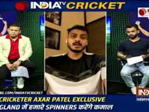 Spinners will play a crucial role in England, says Axar Patel