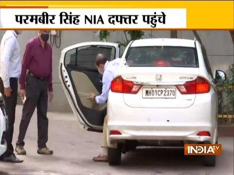 Ex-Mumbai Police Commissioner Param Bir Singh arrives at NIA office for interrogation