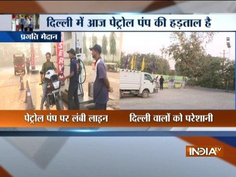 दिल्ली में हड़ताल का डबल अटैक: पेट्रोल पंप के बाद ऑटो-टैक्सी वाले भी आज स्ट्राइक पर