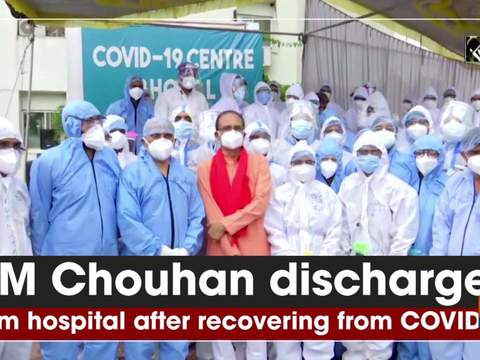 CM Chouhan discharged from hospital after recovering from COVID-19