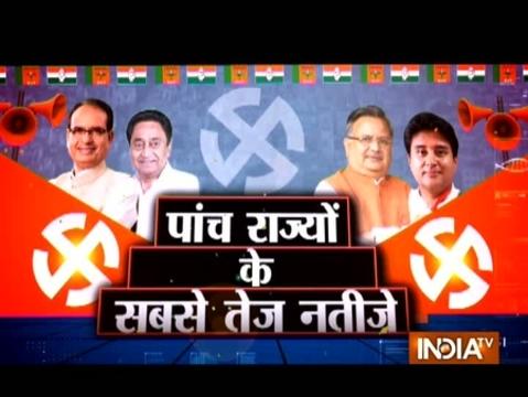 इंडिया टीवी पर देखिए पांच राज्यों का 'फैसला', सबसे तेज, सबसे पहले कल सुबह 6 बजे से रजत शर्मा के साथ