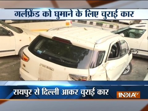 Delhi: Hotel manager steals car to impress girl friend, arrested