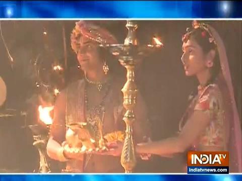 सीरियल राधा-कृष्ण में भोले नाथ की पूजा करते आएंगे नजर