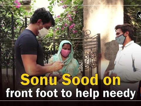 Sonu Sood on front foot to help needy
