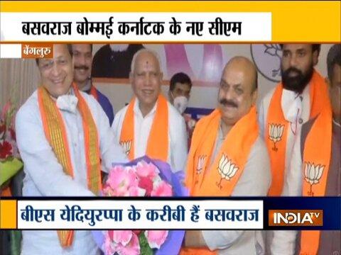 बसवराज बोम्मई होंगे कर्नाटक के नए मुख्यमंत्री