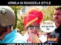 Urmila Matondkar files nomination Rangeela style