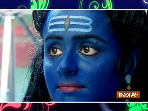 सुशील ने धरा भगवान शिव का रूप