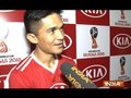I was happy to see people coming in large number to support our team: Sunil Chhetri