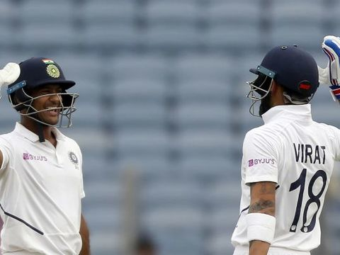 India vs South Africa, 2nd Test Day 1: Mayank's ton, Kohli's unbeaten 50 keep hosts in control