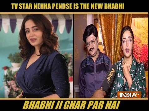 Nehha Pendse excited to play Anita Bhabi in Bhabhiji Ghar Par Hain