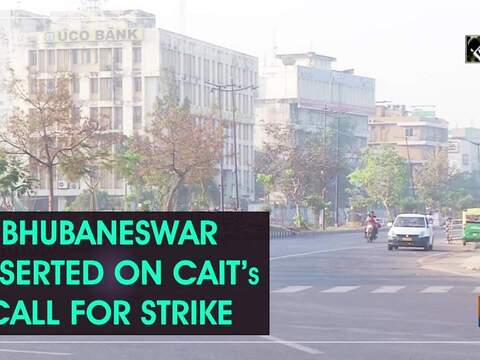 Bhubaneswar deserted on CAIT's call for strike