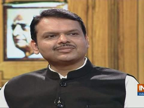 Maharashtra CM Devendra Fadnavis in Aap Ki Adalat (Election Special)