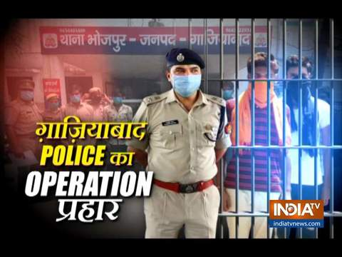 Ghaziabad Police launches Operation Prahar