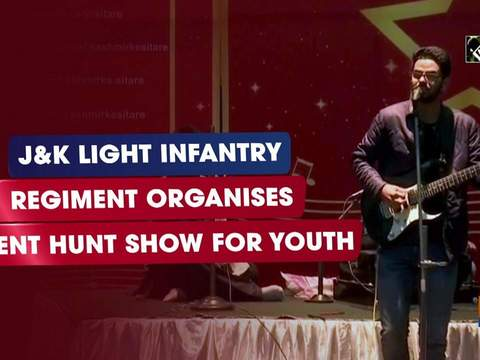 JK Light Infantry Regiment organises talent hunt show for youth