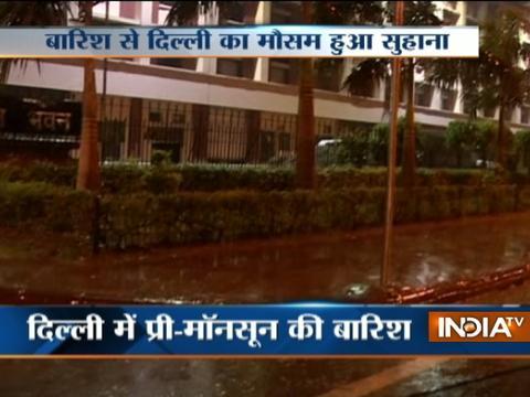 Delhi gets respite as rainfall brings down temperature